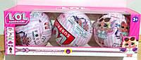 Набор три шара,куклы LOL,кукла LOL,L.O.L,куклы Лол,лол аналог, фото 1