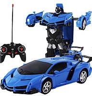 Игрушка машинка трансформер робот на пульте управления автобот   Машинка Трансформер 2 в 1