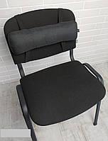 Подушка ортопедическая при остеохондрозе EKKOSEAT для офисного стула. Универсальная.