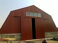 Каркасное строительство ангаров, складов из ЛСТК