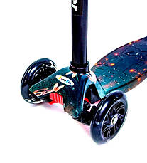 Детский самокат MAXI Планета Светящиеся колеса - Самокаты, фото 3