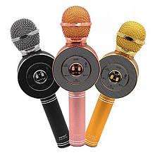 Микрофон-колонка bluetooth WS-668  Микс цветов - Микрофоны