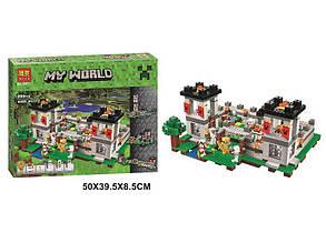 Конструктор Bela Фортеця Lego Minecraft 990 деталей - Конструктори