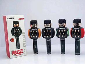 Беспроводной караоке-микрофон Wster WS-2911 - Микрофоны