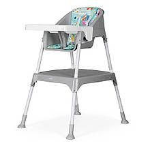 Стульчик для кормления трансформер 3 в 1 Evenflo Y9312-MKGR серый - Детские стульчики для кормления