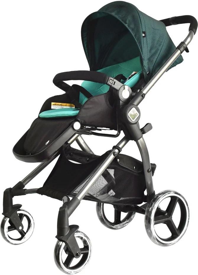 Универсальная детская коляска Evenflo Vesse Original LC839A-W8BG Зеленая - Коляски детские