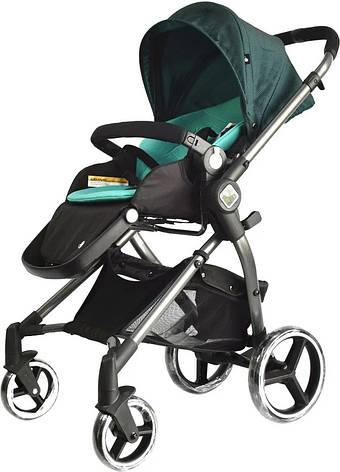 Универсальная детская коляска Evenflo Vesse Original LC839A-W8BG Зеленая - Коляски детские, фото 2
