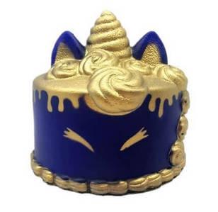 Сквиш торт Единорог фиолетового цвета