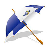 Зонт трость с нанесением логотипа