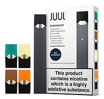 Электронная сигарета Juul с 4-мя подами в комплекте, Электронная сигарета Джул replica