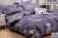 Полуторное постельное белье цветочек