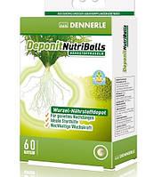 Корневое удобрение Dennerle Deponit NutriBalls для аквариумных растений, 60 шт