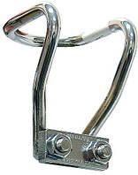 Защитная ручка для заправляемых СО2 баллонов Dennerle, хром, 350-500 г