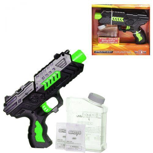 Детский игрушечный пистолет с водяными патронами M02