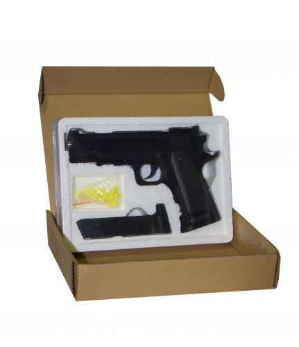 Детский игрушечный пистолет металлический ZM26