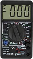 Цифровой портативный мультиметр (тестер) DT700B Black (2602)