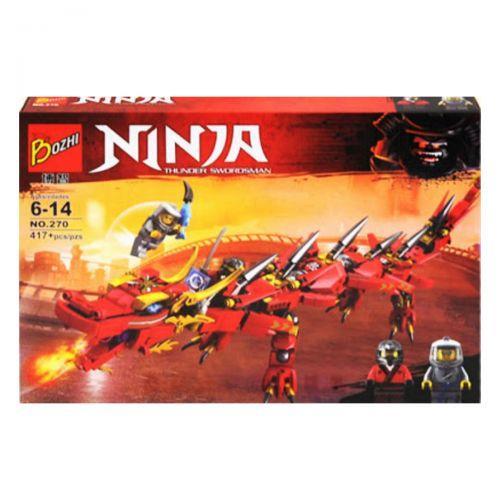 "Конструктор ""Ninja: Red Dragon"" 417 деталей"