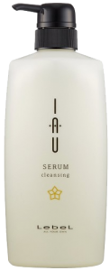 Уценка (отломан носик дозатора) Увлажняющий аромашампунь Lebel IAU Serum Cleansing 600 мл