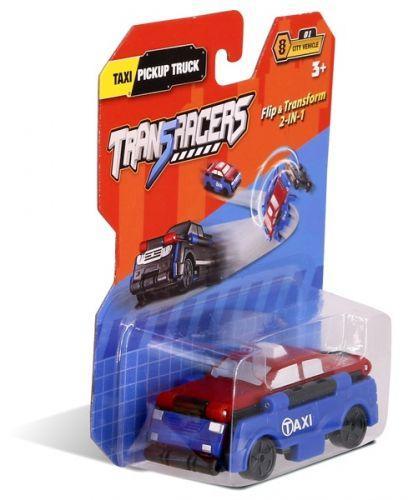 """Детская машинка-трансформер 2 в 1 """"Trans Racers"""", такси и пикап"""