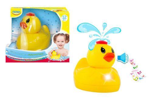 Игрушка для ванной Поющая утка-фонтан