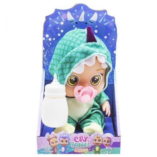 Детская кукла Пупс CRY BABIES музыкальный, зеленый