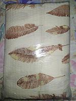 Двуспальное постельное белье жатка перо