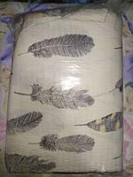 Двуспальное постельное белье жатка - Перо