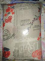Постельное белье Евро размера жатка комплект