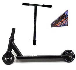 """Самокат трюковой """"Galaxy scooter"""", черный"""