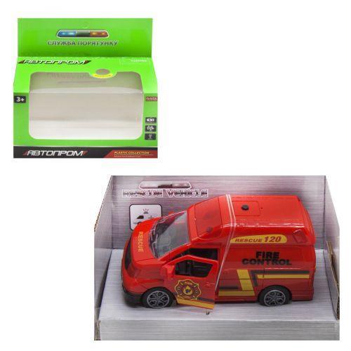 Детская игрушечная пожарная машина 7965 Автопром