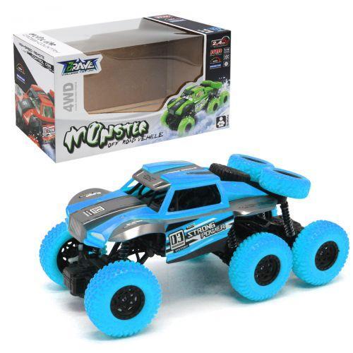 """Детская игрушечная Машинка на радиоуправлении """"Monster"""", синий"""