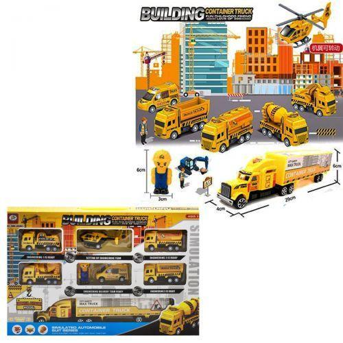 Набор детской игрушечной спецтехники 399-256D