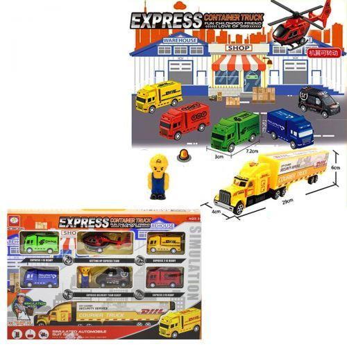 Набор детской игрушечной спецтехники 399-354D