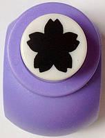 Дырокол фигурный Цветок кнопка 1,8 см