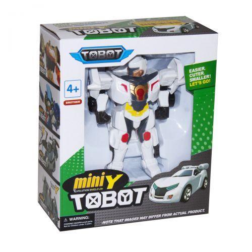 """Детская игрушечная фигурка """"Tobot mini Y"""" (белый)"""