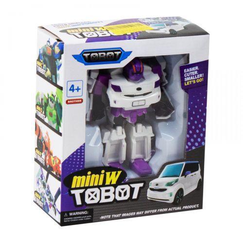"""Детская игрушечная фигурка """"Tobot mini W"""" (белый)"""