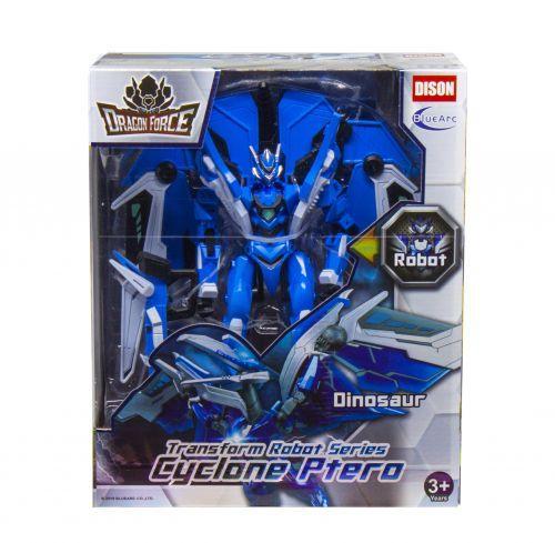 "Робот-трансформер ""Dragon force"" (синий)"