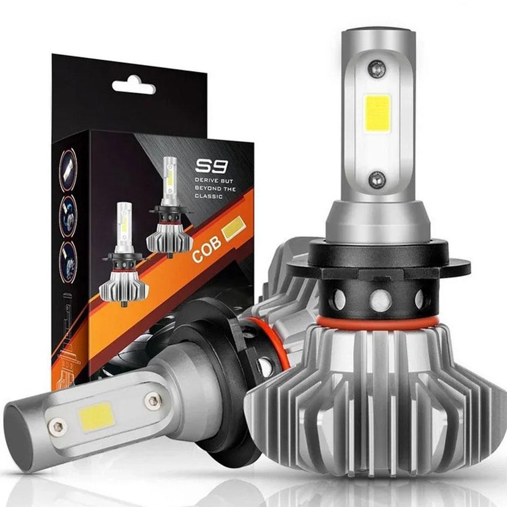 Комплект светодиодных ламп S9 H4 60W 12000LM 6000K (13872)