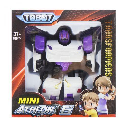"""Игрушка-трансформер """"TOBOT"""" фиолетовый"""