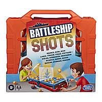 Настольная игра Battleship Shots морской бой Hasbro gaming E8229