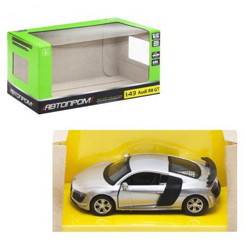 """Детская машинка """"Audi R8 GT"""" из серии """"Автопром"""", серый"""