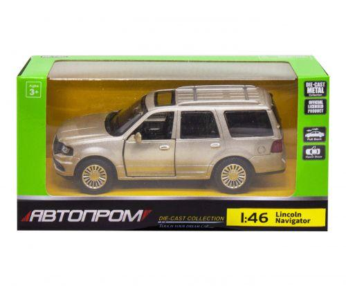 """Детская машинка """"Lincoln Navigator"""" из серии """"Автопром"""", серый"""