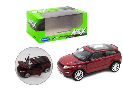 """Детская машинка металлическая """"Range Rover"""", бордовая"""