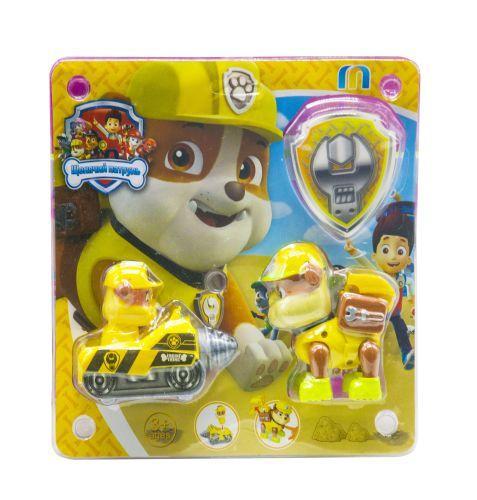 """Детская игрушка машинка с героем """"Щенячий патруль: Здоровяк"""""""
