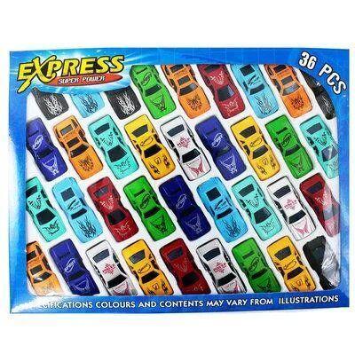 Детский игровой набор машинок 2136