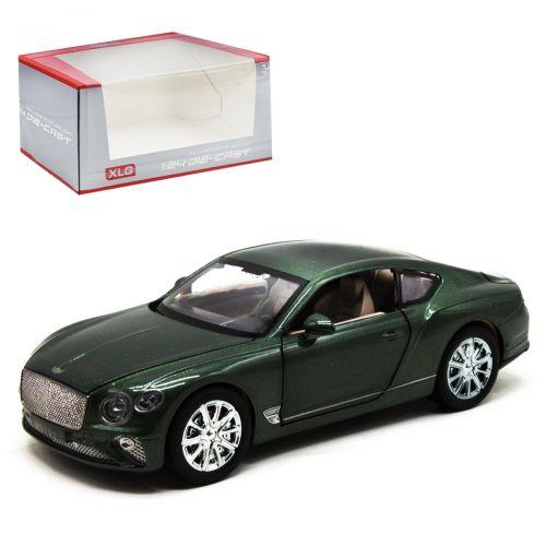 """Детская машинка металлическая """"Bentley Continental GT"""", зеленый"""
