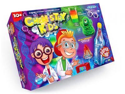 """Детский набор для проведения опытов """"Chemistry Kids"""" (укр) CHK-01-01U"""