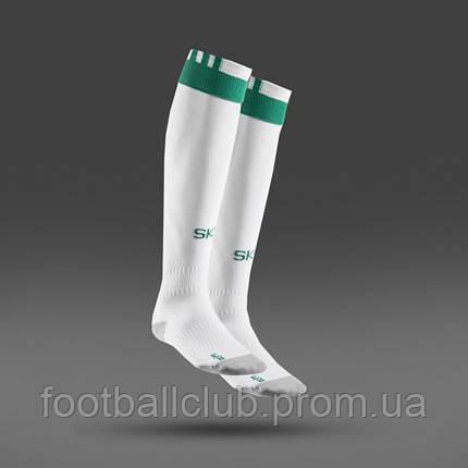 Гетры Adidas White Green B45007 M, фото 2