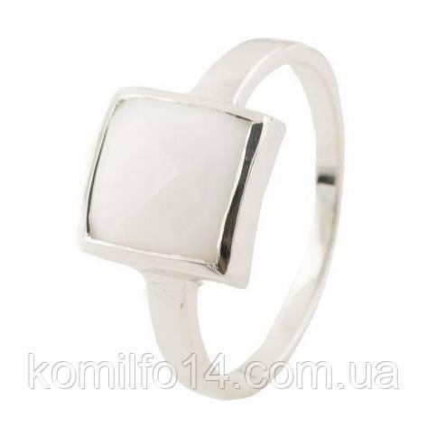 Серебряное кольцо с натуральным агатом, фото 2