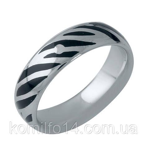 Серебряное кольцо с эмалью, фото 2